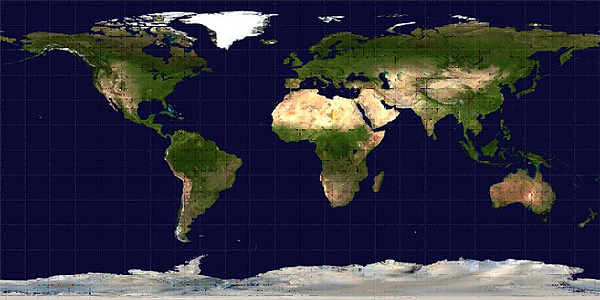 Color picture of the Earth